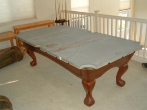 Proper pool table moving process in Naples Florida
